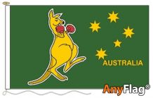 - BOXING KANGAROO ANYFLAG RANGE - VARIOUS SIZES